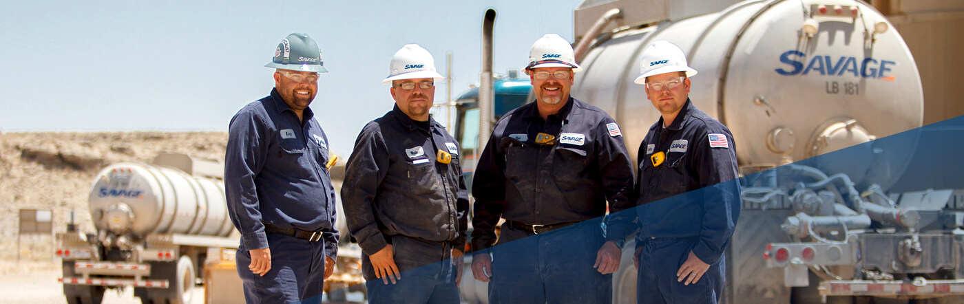Savage Oilfield Services Crew